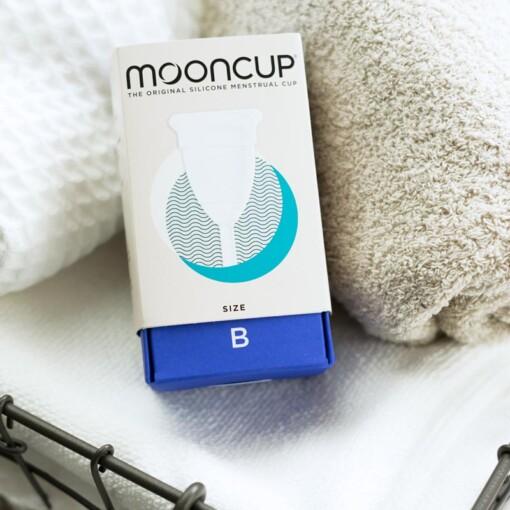 moon cup menstruatiecup b towel