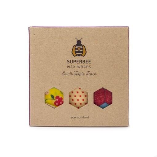 superbee small triple pack bijenwasdoek