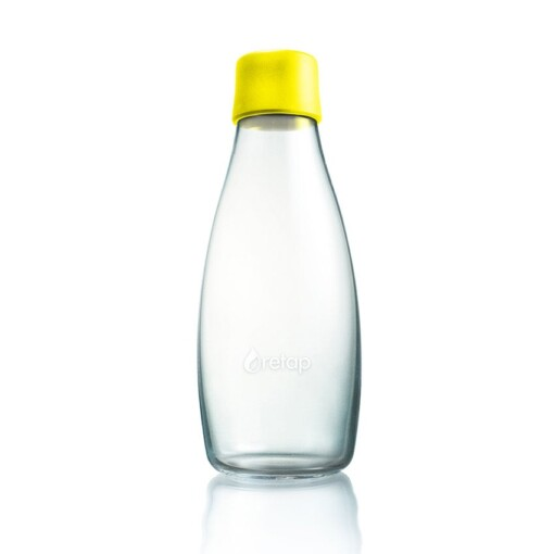 retap waterfles yellow