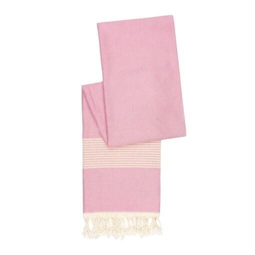 happy towels hamamdoek zacht roze