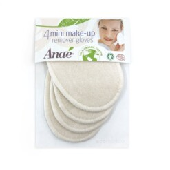herbruikbare wattenschijfjes Anae make-up pads gloves