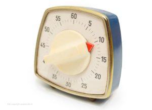 Gebruik een kookwekker als douchetimer of showertimer