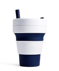 stjojo biggie donkerblauwe koffiebeker