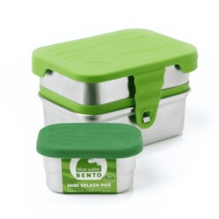 RVS eco lunchbox 3in1 splash box