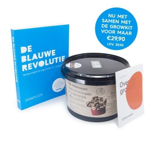 De Blauwe Revolutie - Boek met Rotterzwam Growkit
