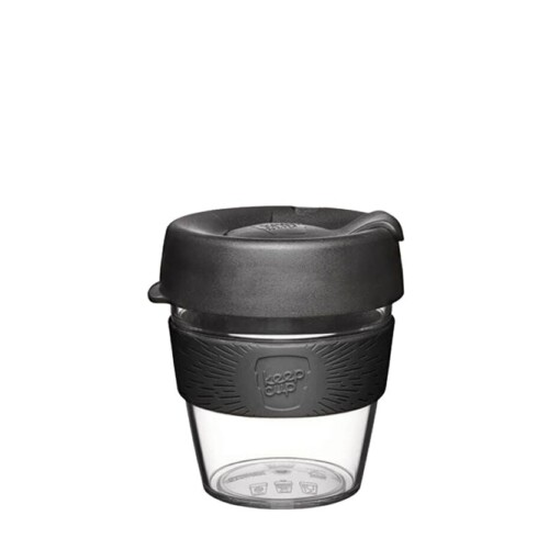 keepcup clear small black