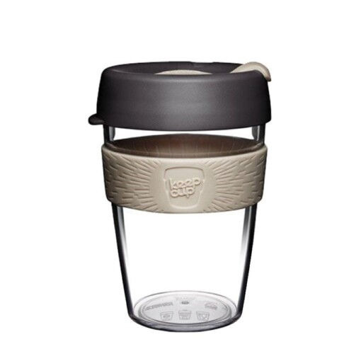 keepcup clear zwart 12oz