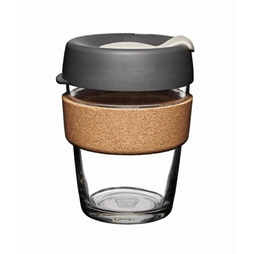 keepcup kurk 12oz grijs press