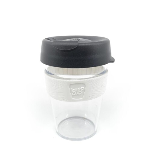 keepcup original clear black white