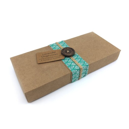kusala lavendel oogkussen giftbox