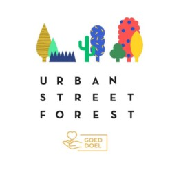 urban street forest logo goed doel