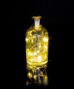bottle light string fles
