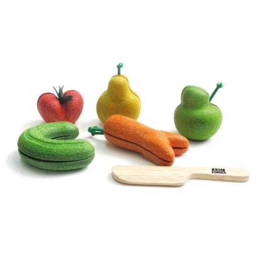 kromkommer kromme groenten speelset