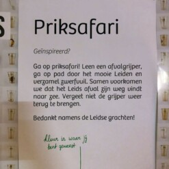priksafari leidse grachten plasticvrij