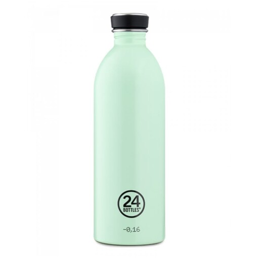 24bottles urban bottle 1 liter aqua green