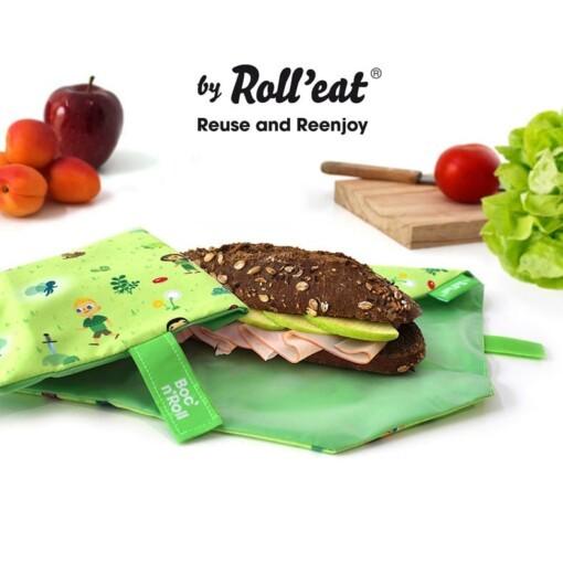 bocnroll lunchwrap voor school