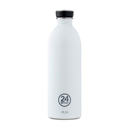 24bottles 1000ml waterfles wit