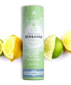 ben & anna sensitive deodorant lemon