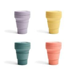 stojo pocket cup pastel colours