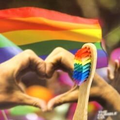 regenboog tandenborstel-humble brush