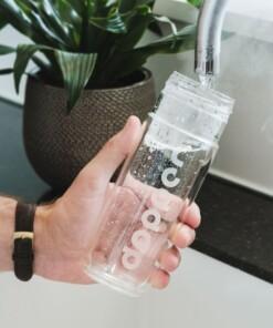dopper thermosfles glas