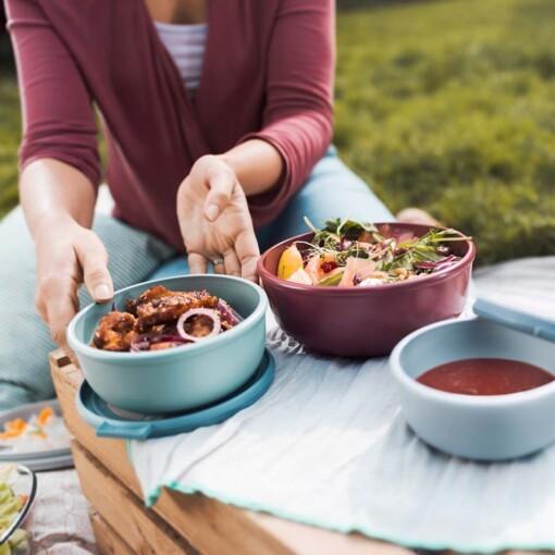 saladeschaal picnic mepal cirqula zerowaste meal