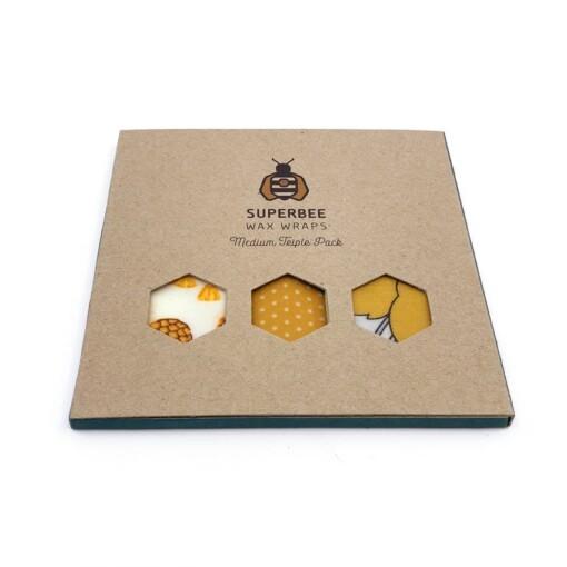 superbee waxwrap medium triple set
