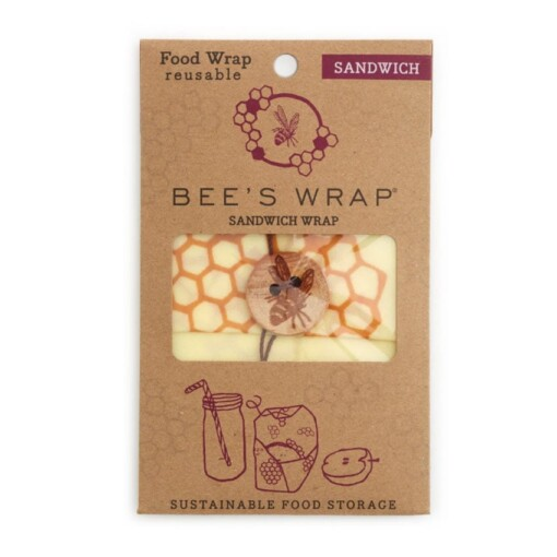 bee's wrap sandwich bijenwasdoek