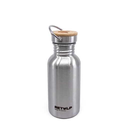 retulp urban bottle 500ml rvs