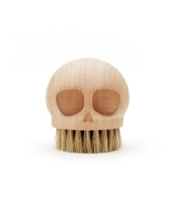 skull brush houten afwasborstel