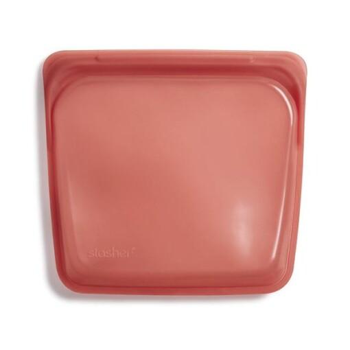 stasher bag terracotta