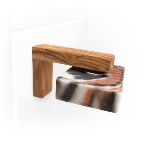 zeephouder hout met magneet