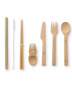 bamboe bestekset zero waste