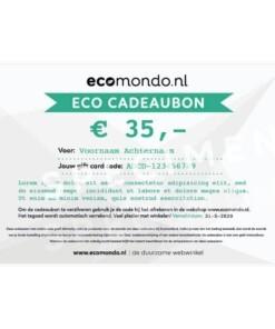 eco cadeaubon 35 euro
