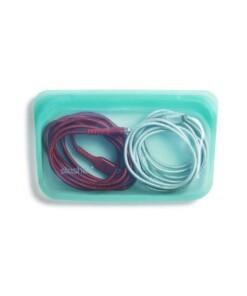 stasher snackbag aqua cords