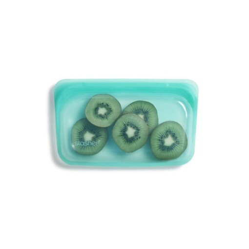 stasher snackbag aqua kiwi