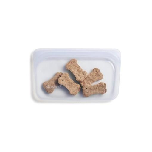 stasher snackbag clear dogtreats