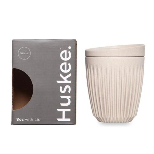 huskeecup koffiebeker natural medium