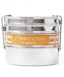 eco lunchbox tri bento label