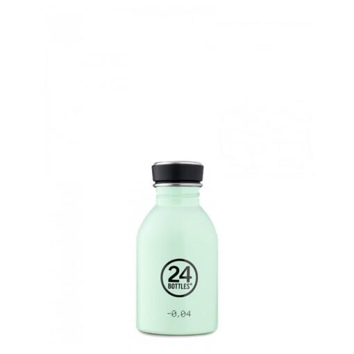24 bottles aqua green 250ml