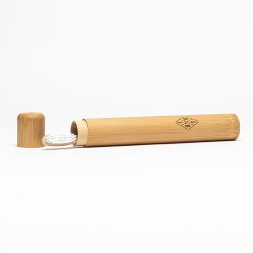 bamboo brush society tandenborstelkoker bambu