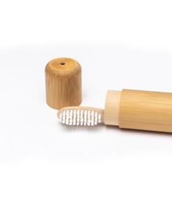 bamboo brush society tandenborstelhouder