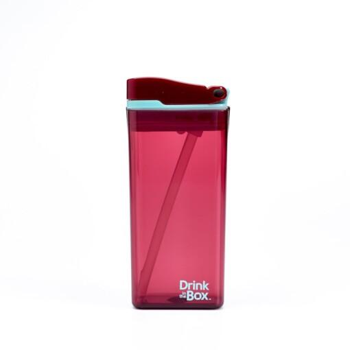 herbruikbaar drinkpakje drink in the box rood