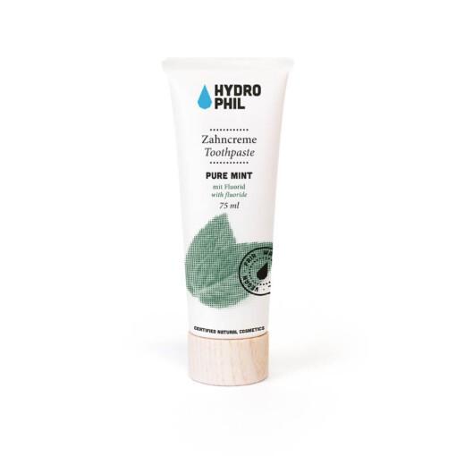 hydrophil tandpasta pure front mint