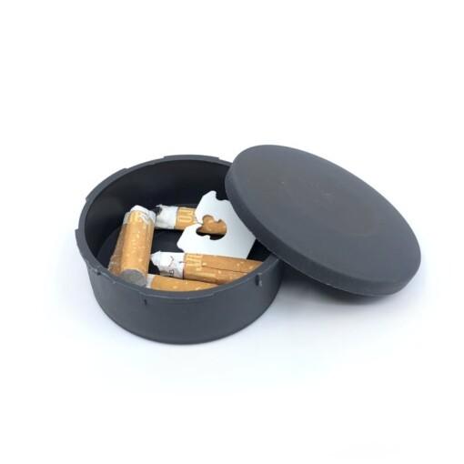 pocket ashtray open