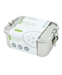 a slice of green lekvrije rvs Doda lunchbox - big