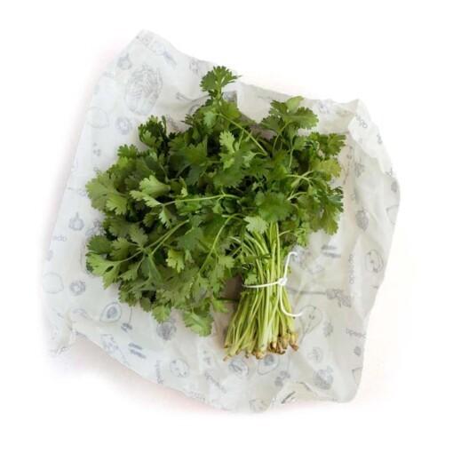 abeego large food wrap cilantro