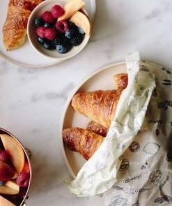 abeego large food wrap croissant