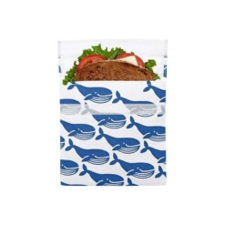 lunchskin sandwich bag blue whale