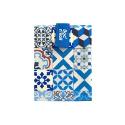 boc n roll blue patchwork tiles